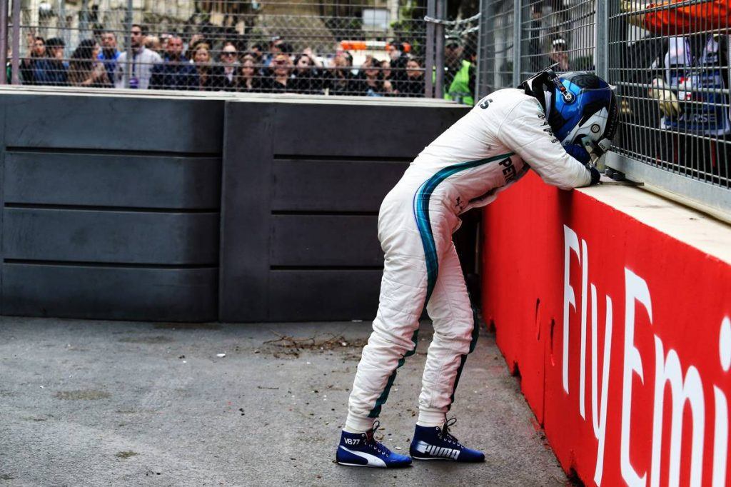 BOTTAS GUTTED AT BAKU LOSS