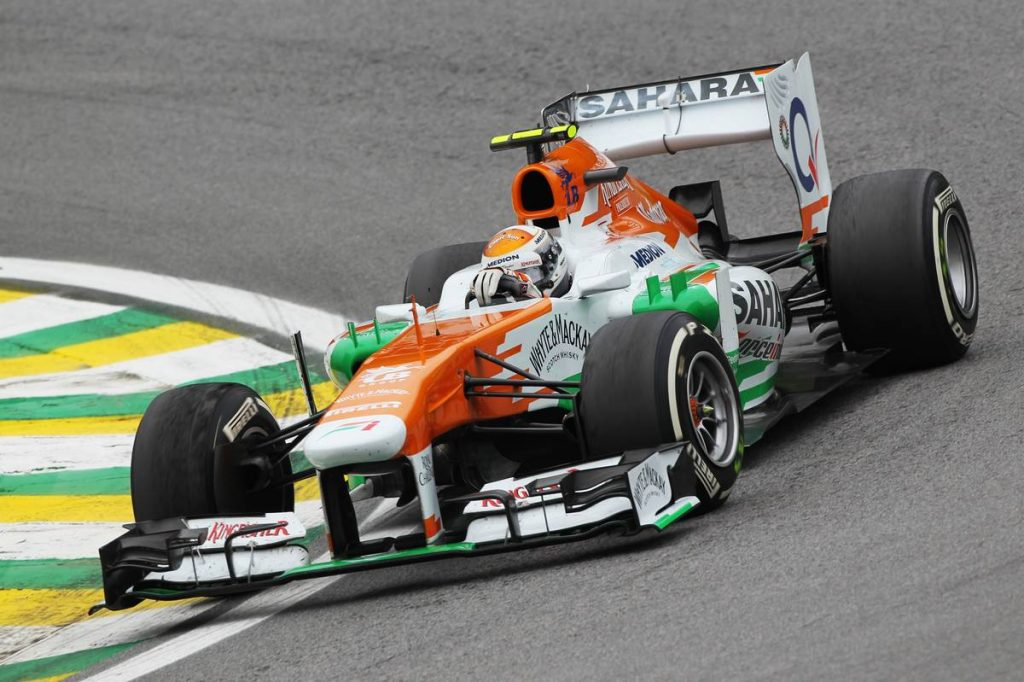 Sutil Force India 2013
